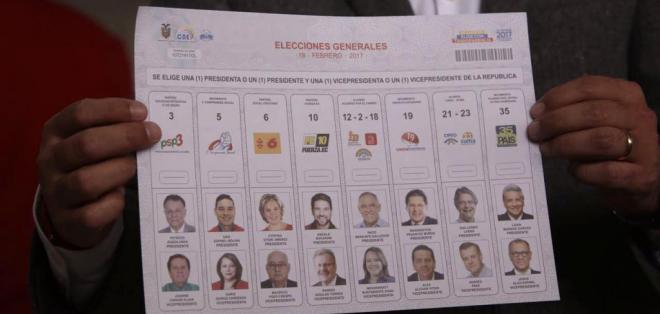 ECUADOR.- Este proceso electoral constará de 76'881.399 de papeletas y documentos electorales. Fotos: API