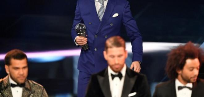 El portugués se convierte en el primer ganador de este trofeo. Foto: AFP