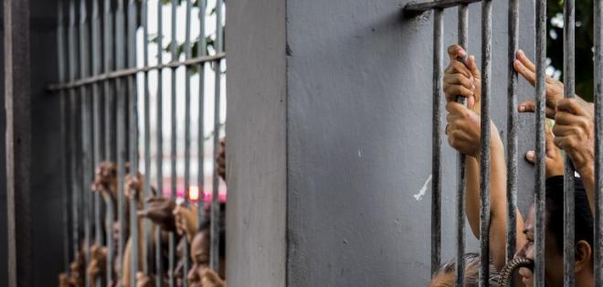 Siguen fugitivos 114 de los 184 reclusos que lograron escapar, según últimas cifras oficiales. Foto: Archivo / AFP