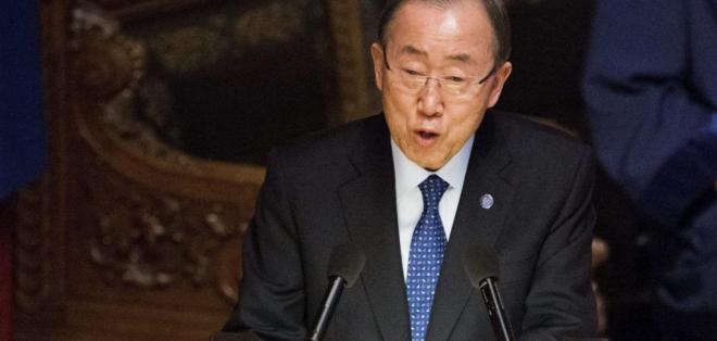 EE.UU.- Ban Ki-moon abandonó su cargo como máximo responsable de Naciones Unidas, en diciembre de 2016. Foto: Archivo