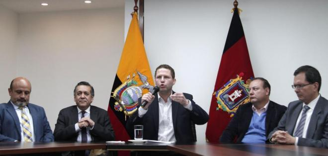 QUITO, Ecuador.- Según el alcalde, el Gobierno pretende inculpar al Municipio de Quito en caso Odebrecht. Foto: API