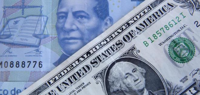 Así lo registra la cotización del banco Citibanamex. Foto: Archivo / AFP