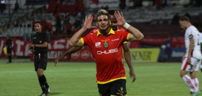 El jugador venezolano Jacobo Kouffaty fichó por el club Millonarios de Colombia.