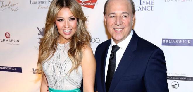 Thalía lleva 17 años casada con el productor musical Tommy Mottola. Foto: HolaCiudad.com.