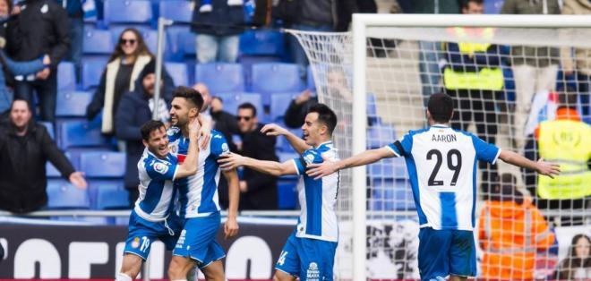 Espanyol se impuso al Granada sin la presencia del ecuatoriano Felipe Caicedo.