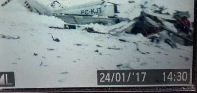 El accidente ocurrió en la zona de Campo Felice, en una estación de esquí. Foto: El Mundo