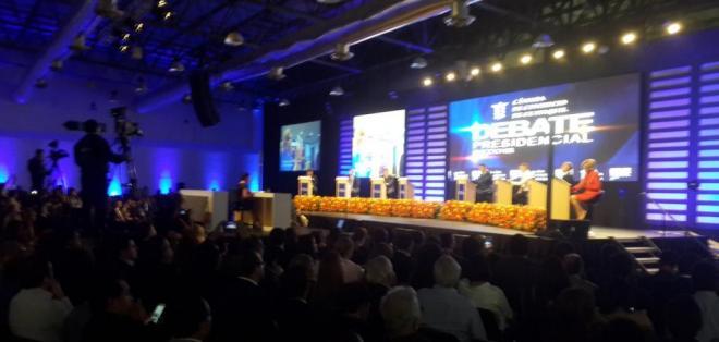 El evento se desarrolla en  el Centro de Convenciones de Guayaquil. Foto: @lacamaragye