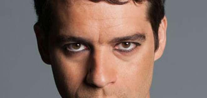 Guilherme Winter interpreta a Moisés en la telenovela que destronó a Globo de su horario estelar.