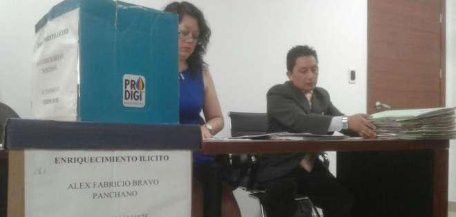 La audiencia contra el exgerente de Petroecuador se desarrolla en el Complejo Judicial Norte de la capital. Foto: API