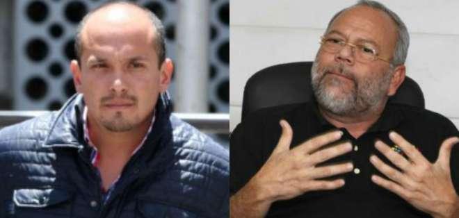 QUITO, Ecuador.- El exgerente de Petroecuador, Álex Bravo (i), rindió su testimonio en el tercer día de audiencia de juicio por cohecho. Collage: Ecuavisa