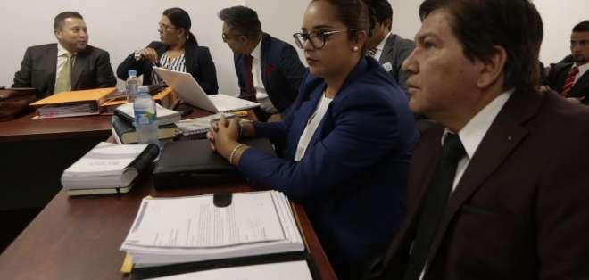 QUITO, Ecuador.- El proceso por cohecho en el caso Petroecuador es el primero de 24 procesos que llega a juicio. Foto: API