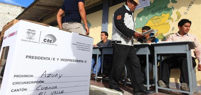 ECUADOR.- Ecuador destinará $131,6 millones para organizar las elecciones del 19 de febrero y eventualmente las segunda vuelta presidencial. Foto: Archivo