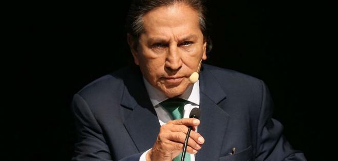 Toledo fue acusado de haber recibido un soborno de $ 20 millones de Odebrecht. Foto: Archivo