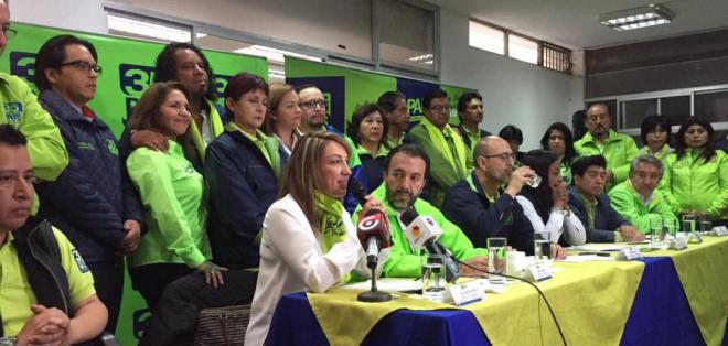 Algunos miembros de AP coinciden en que el fiscal Galo Chiriboga debe acudir a la Comisión de Fiscalización de la Asamblea Nacional. Foto: Soledad Buendía