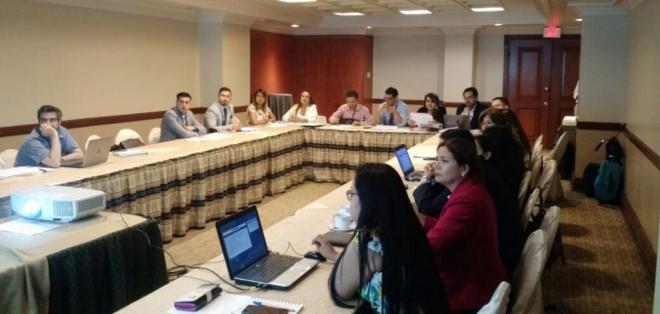 GUAYAQUIL, Ecuador.- En las reuniones técnicas participan más de 30 representantes de las entidades competentes por cada país. Foto: Twitter