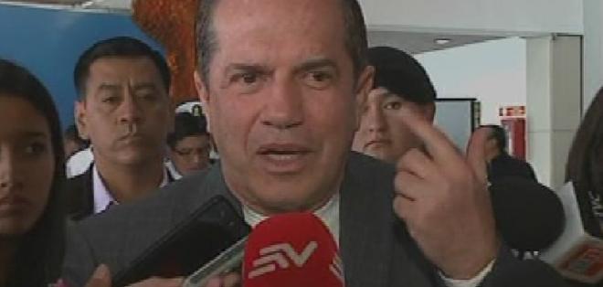 El Ministro Patiño es nombrado en un audio de Fabricio Correa, revelado en los llamados Odebrecht Leaks. Foto: Captura de video