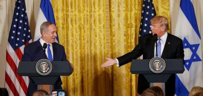 """El presidente de EE.UU., Donald Trump, señaló que """"los israelíes van a tener que mostrar alguna flexibilidad""""."""