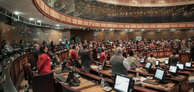 El proyecto para reestructurar las deudas de la banca privada fue enviado a la Asamblea con el carácter de urgente en  materia económica. Foto: Asamblea