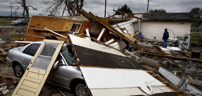 Al menos seis personas resultaron heridas en un pueblo ubicado al suroeste de Houston. Foto: AP