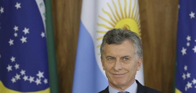 BUENOS AIRES, Argentina.- El presidente fue cuestionado en los últimos días por un supuesto trato favorable en una deuda de su padre. Foto: AP.