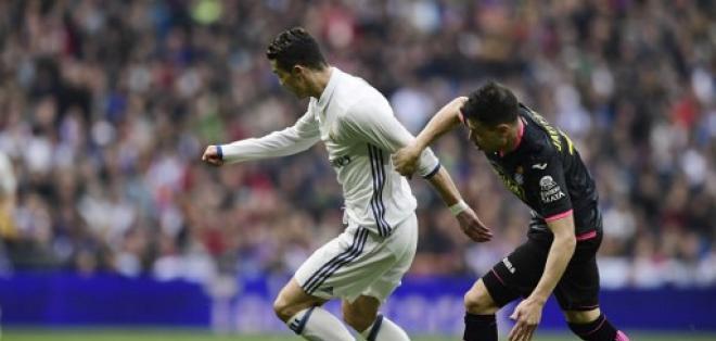 EL portugués no pudo anotar ante el conjunto de Barcelona. Foto: AFP