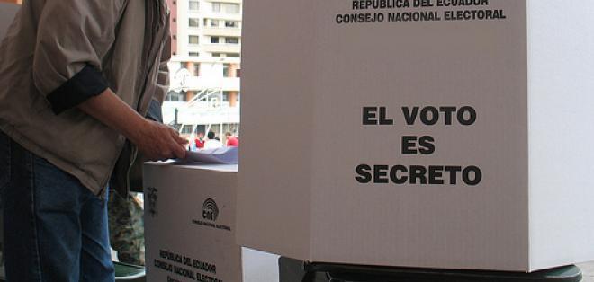 ECUADOR.- El horario de las votaciones en los diferentes recintos electorales será de 07h00 a 17h00 del 19 de febrero de 2017. Foto: Archivo