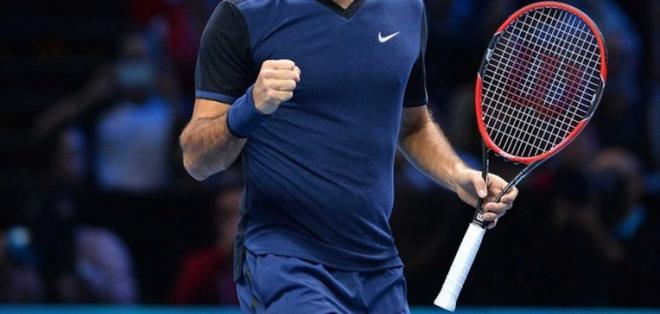 El suizo Roger Federer no tuvo problemas en su debut en el Torneo de Dubái.