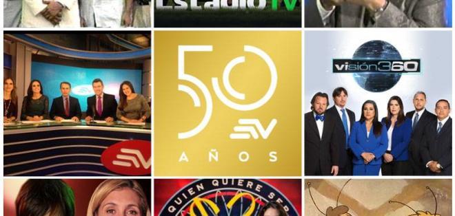 Para celebrar sus 50 años, Ecuavisa transmitirá un especial a partir de este lunes a las 19h30.