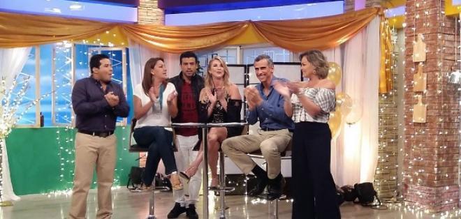 Los presentadores de la recordada revista matinal compartieron anécdotas en el show. Foto: Instagram En Contacto.