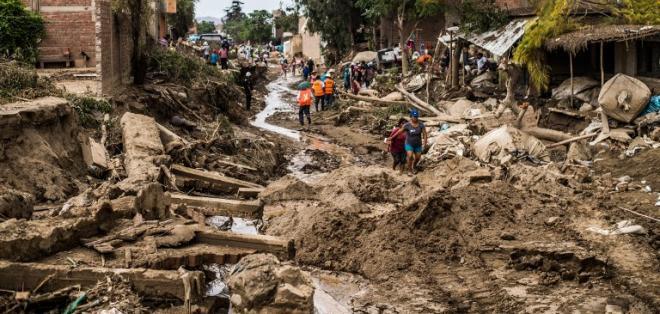 Se registran 99.475 damnificados -es decir, que lo perdieron todo- y 626.928 afectados -que sufrieron daños menores. Foto: AFP