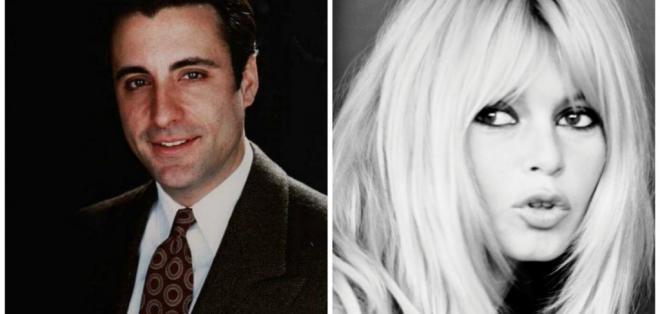 Andy García y Briggite Bardot son de las estrellas de Hollywood que cambiaron con los años. Foto: Referencial