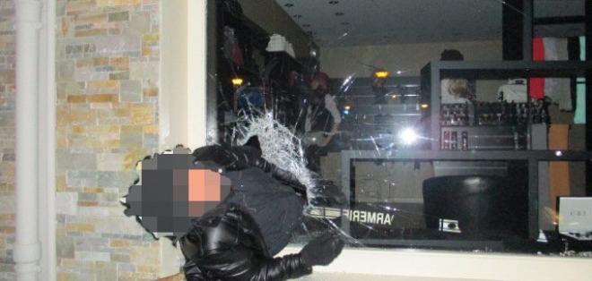 El robo a una joyería terminó de una forma muy curiosa. Foto: @Gendarmerie