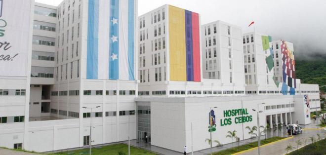 ECUADOR.- La casa de salud dispone de 600 camas y, según estimaciones del Gobierno, beneficiará a más de 1,5 millón de habitantes de Guayaquil. Foto: Twitter Presidencia