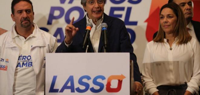 El equipo de control electoral de CREO detectó 1.795 actas irregulares. Foto: Twitter/ Guillermo Lasso