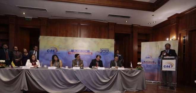 ECUADOR.- El Consejo Nacional Electoral debe notificar a las organizaciones políticas los resultados oficiales. Foto: API