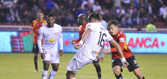 Liga de Quito nuevamente deja escapar puntos en condición de local, empató con Deportivo Cuenca.