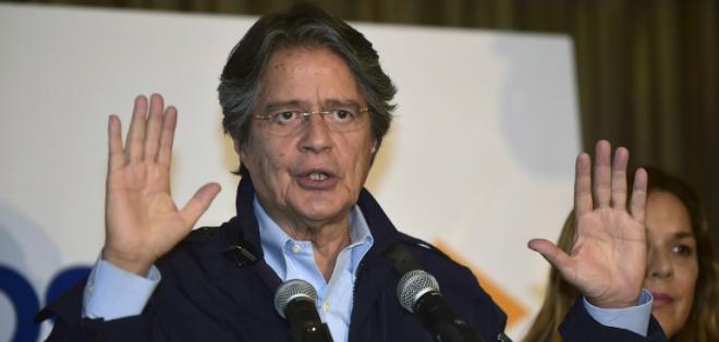 """GUAYAQUIL, Ecuador.- El candidato presidencial por el movimiento CREO dijo que no """"vamos a dejar sola a la ciudadanía"""". Foto: AFP"""