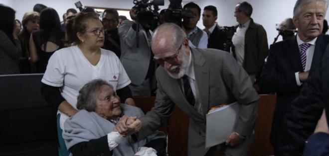 QUITO, Ecuador.- El contralor Carlos Pólit demandó a 9 integrantes de la Comisión tras denuncia sobre Refinería del Pacífico. Foto: API