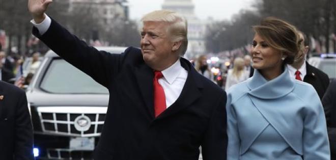 Donald Trump y Melania, de 46 años, se casaron en 2005. Foto: AP
