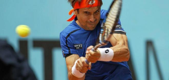 El español David Ferrer hizo debut y despedida en el torneo Conde de Codó, en Barcelona.
