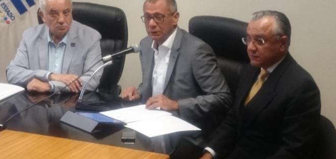QUITO, Ecuador.- El vicepresidente Jorge Glas solicitó a la Fiscalía ampliar investigación en caso Odebrecht y Caminosca. Foto: Twitter Vicepresidencia de la República