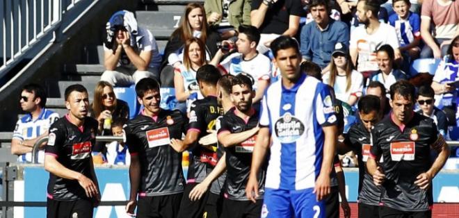 El Espanyol trata de cerrar la liga española lo más arriba posible. Foto: AFP