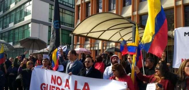 QUITO, Ecuador.- La creación de un Servicio de Protección Pública, integrado por civiles, genera malestar. Foto: API