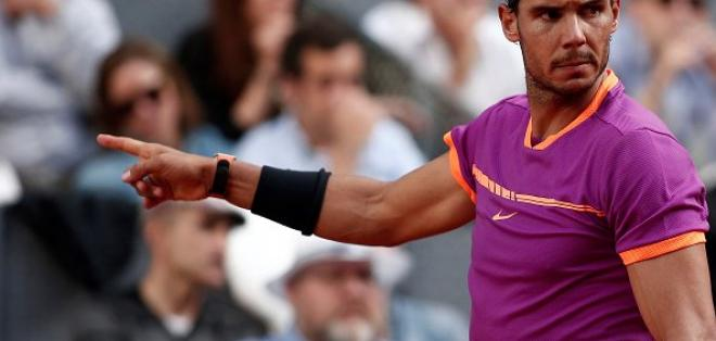 El español Rafael Nadal clasificó a los octavos de final del Masters 1000 de Roma.