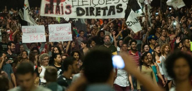 Mandatario es acusado de avalar pagos al extitular de la cámara baja Eduardo Cunha. Foto: AFP