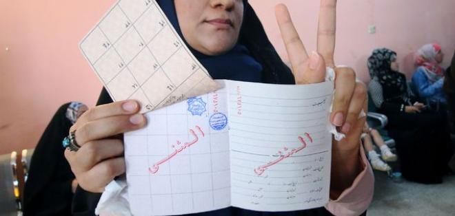 TEHERÁN, Irán.- Se registró una gran afluencia en las urnas para las presidenciales en este país. Foto: AFP.