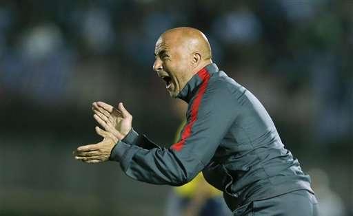 Jorge Sampaoli será oficializado como nuevo entrenador de Argentina en los próximos días. Foto: AP