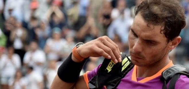 Rafael Nadal sufrió su primera derrota en arcilla este año. Foto: AFP
