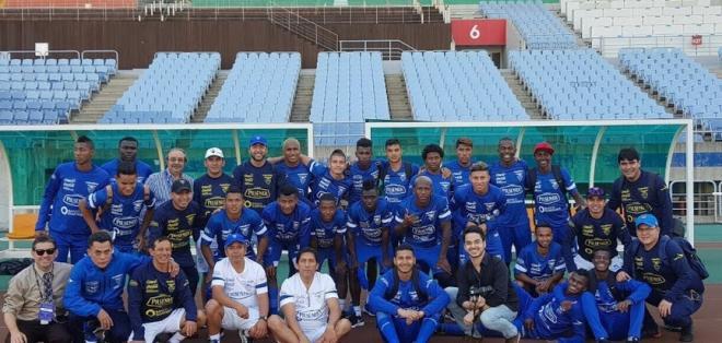La selección ecuatoriana sub-20 debutará en el mundial el próximo lunes ante Estados Unidos. Foto: ecuafutbol.org