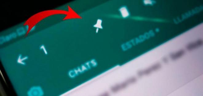 todos los usuarios de WhatsApp en Android ya pueden fijar chats hasta arriba.